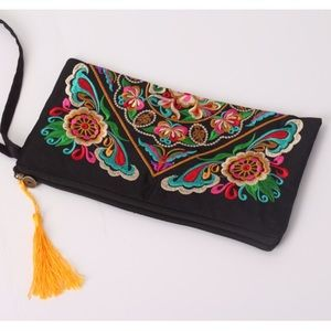 Handbags - Just In! Embroidery Wallet/ Clutch